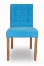 gesteppter schmaler stuhl. Black Bedroom Furniture Sets. Home Design Ideas